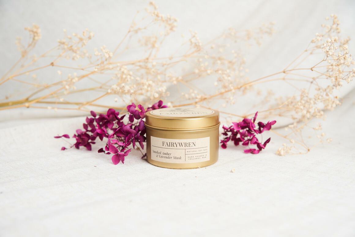 Smoked Amber & Lavender Musk | Trada Marketplace