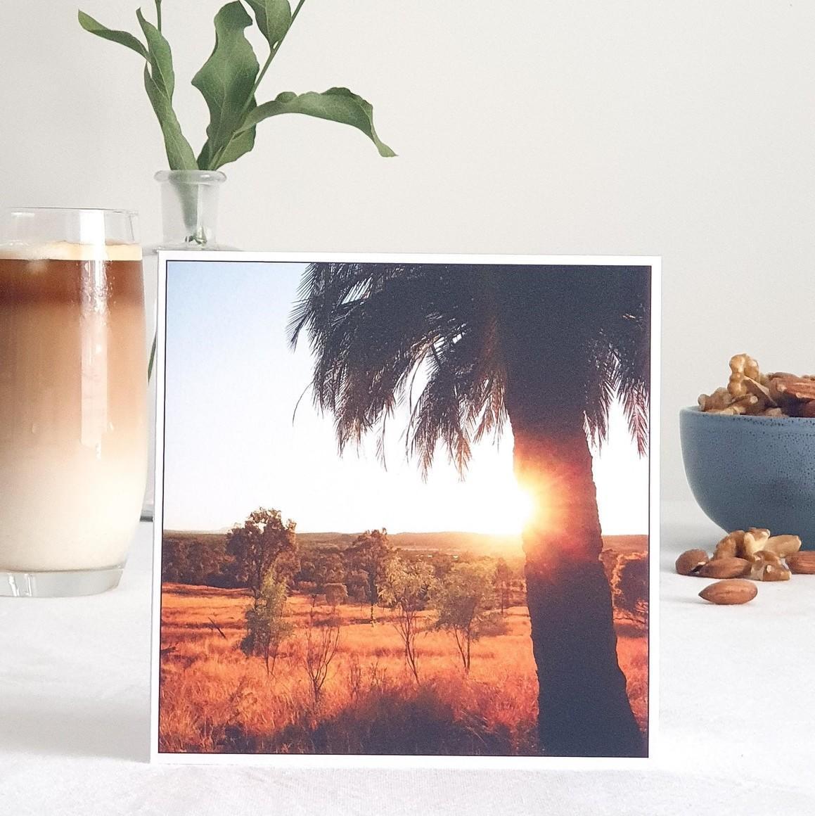 Sunrise Greeting Card   Trada Marketplace
