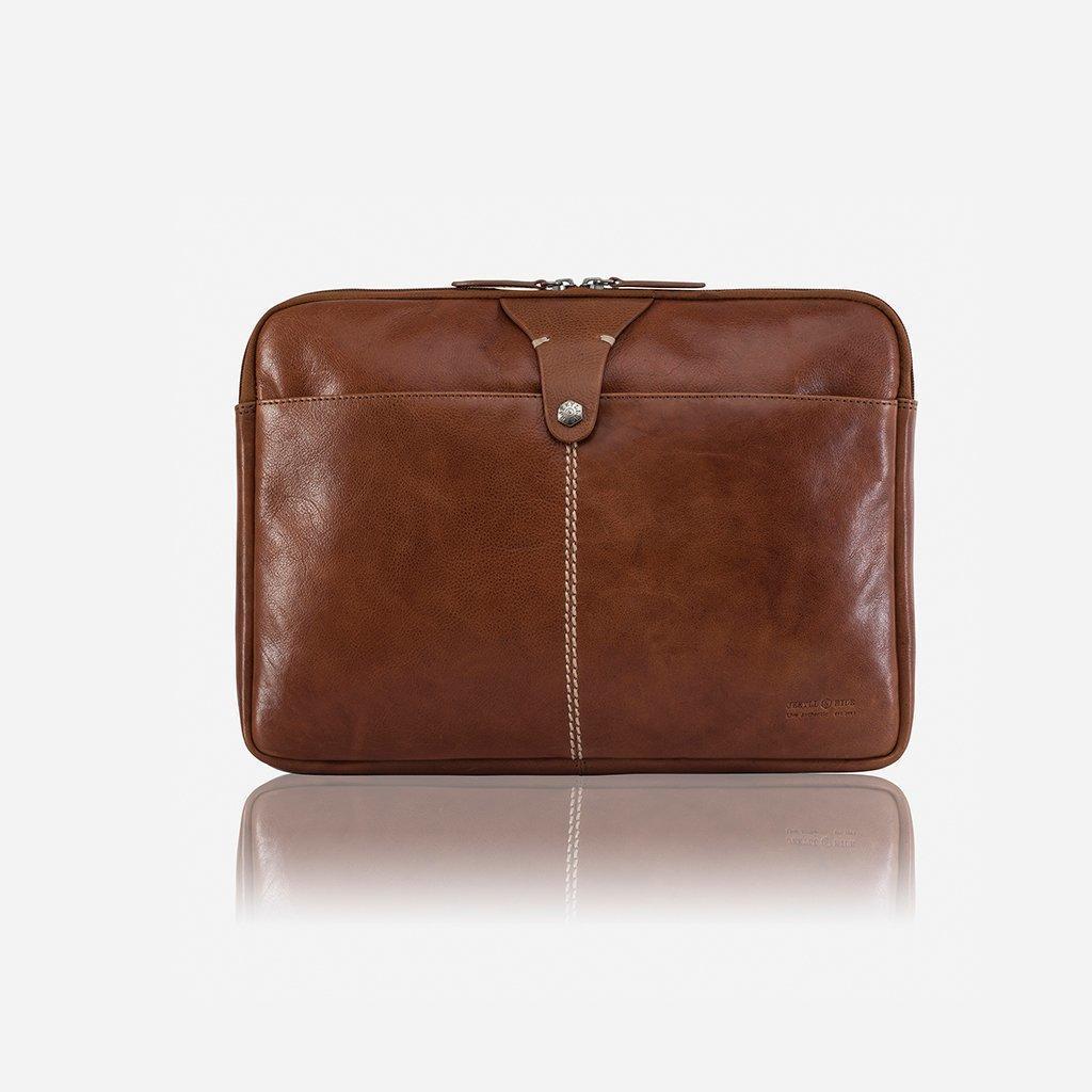 Zulu Laptop Folder with Detachable Strap COFFEE | Trada Marketplace