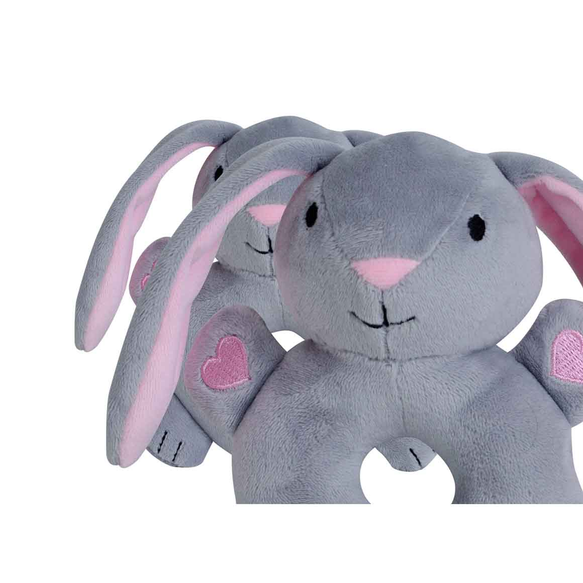 BibiBaby Cuddle Rattle - Bella Bunny   Trada Marketplace