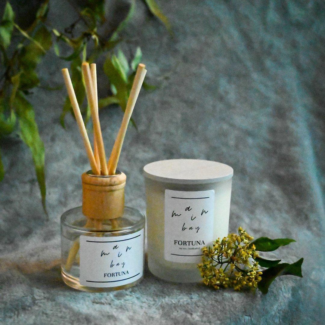 Fortuna Milieu Candle and Diffuser Set | Trada Marketplace