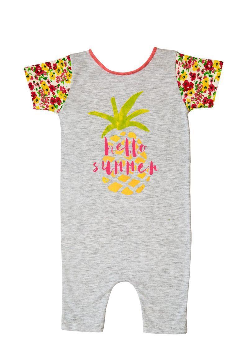 Hello summer cotton romper | Trada Marketplace