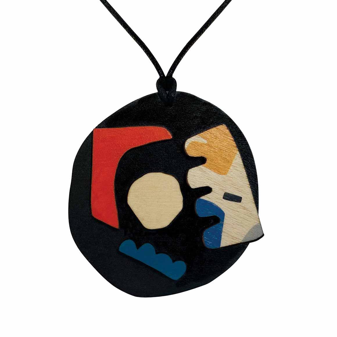 Abstract pendant on black   Trada Marketplace