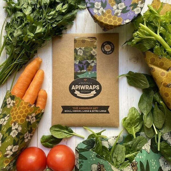 Apiwraps Beeswax Wraps | Trada Marketplace