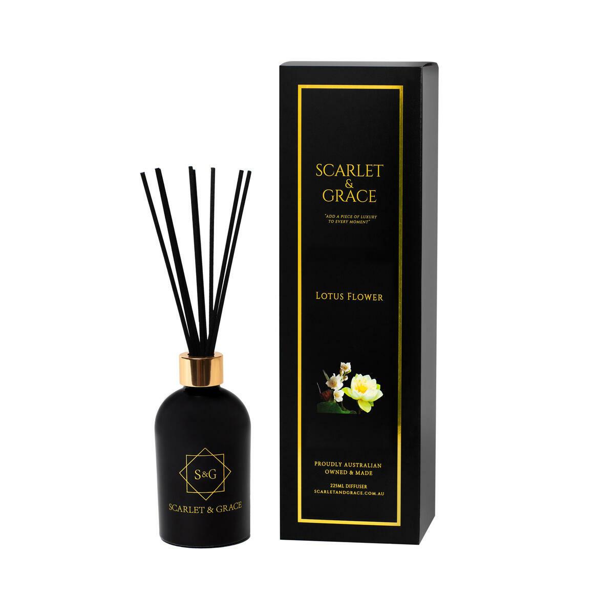Scarlet & Grace 225ml Diffuser - Lotus Flower Fragrance   Trada Marketplace