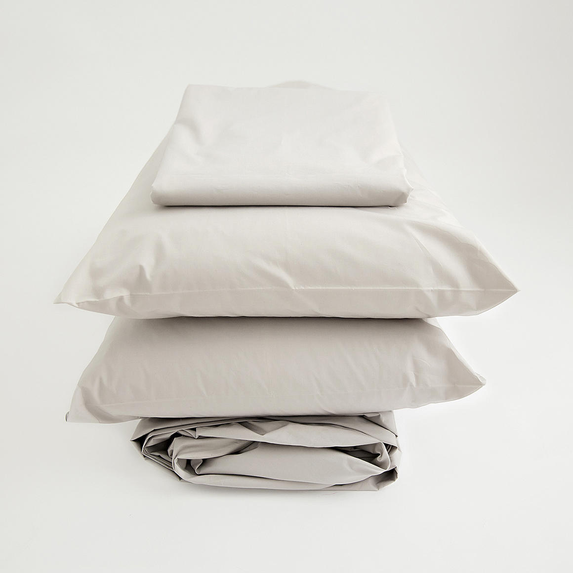 Organic Sheet Set, Stone   Trada Marketplace
