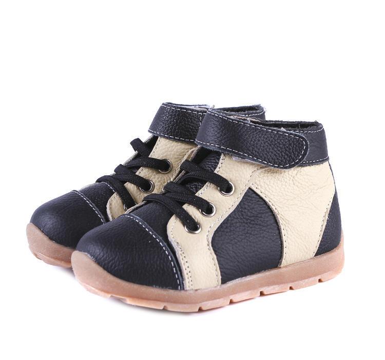 Black & Cream Trail Boots | Trada Marketplace