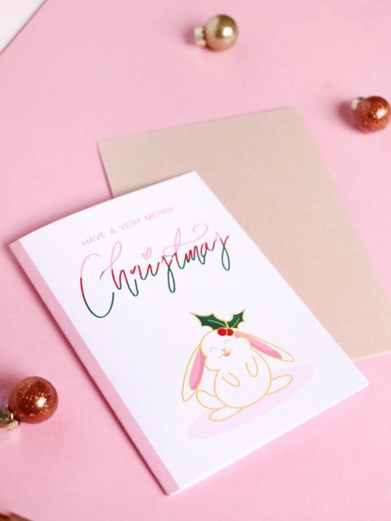 Holly the Bunny Card | Trada Marketplace
