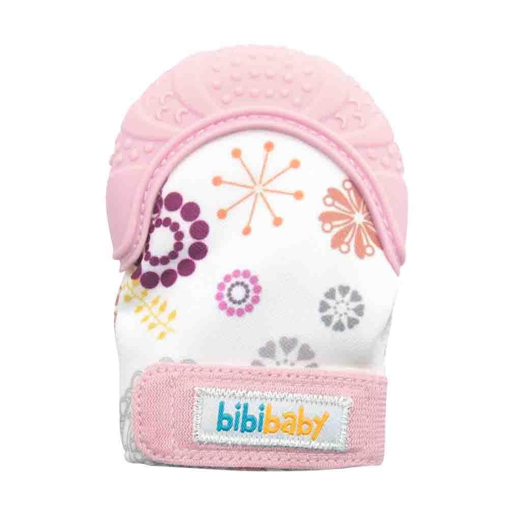 BibiBaby Teething Mitts - Pink   Trada Marketplace