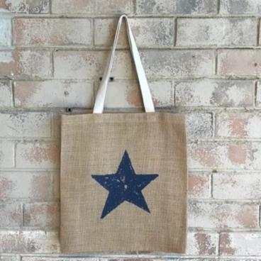 Moonlit Star Casual Shopper French Navy   Trada Marketplace