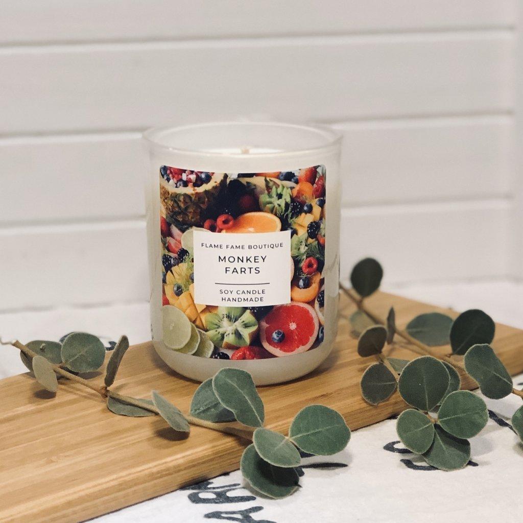 Monkey Farts Candle Jar   Trada Marketplace
