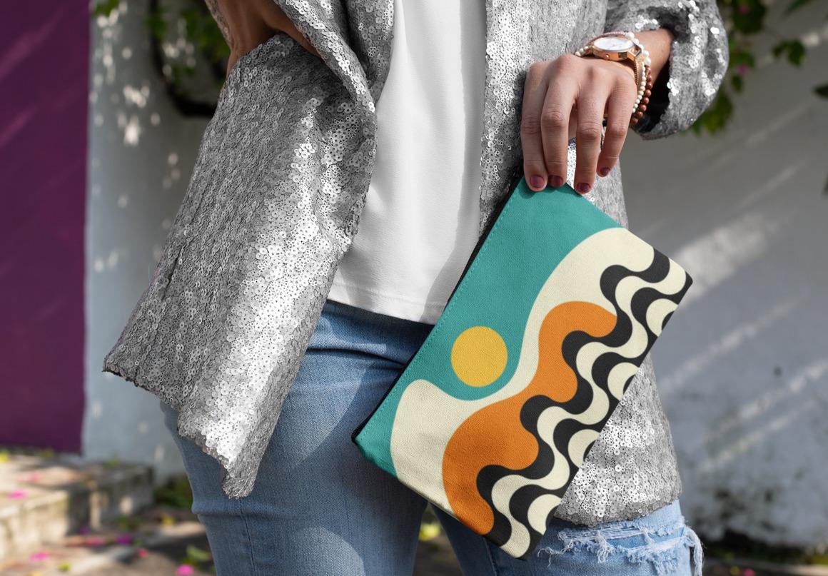 Bossa Nova Clutch Bag | Trada Marketplace