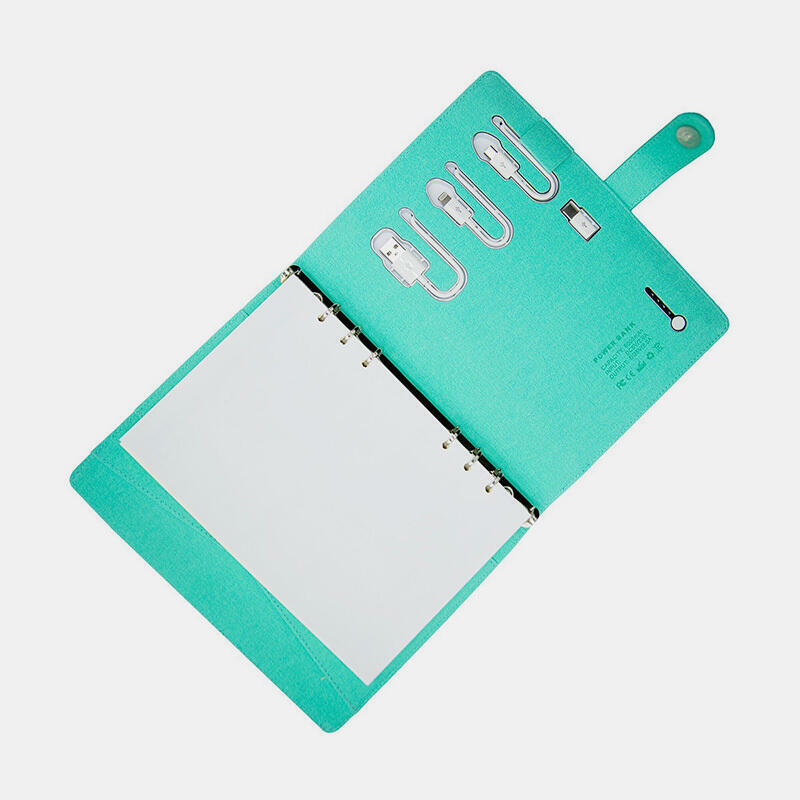 PowerBank Notebook - Crystal Green | Trada Marketplace