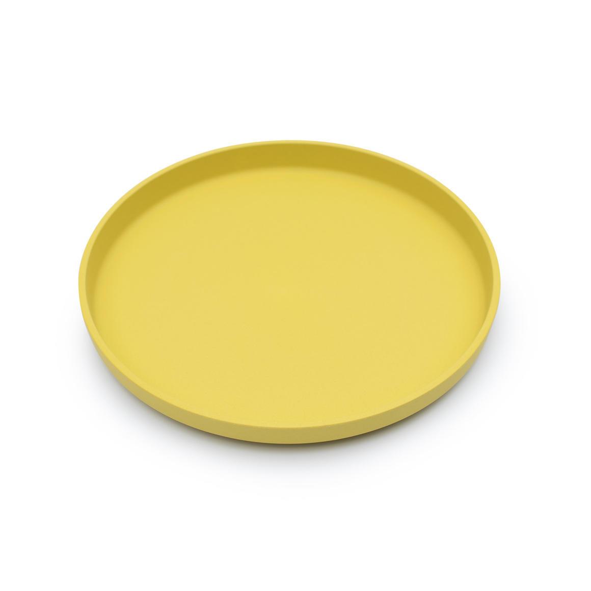 Plant-Based Plate - Yellow   Trada Marketplace
