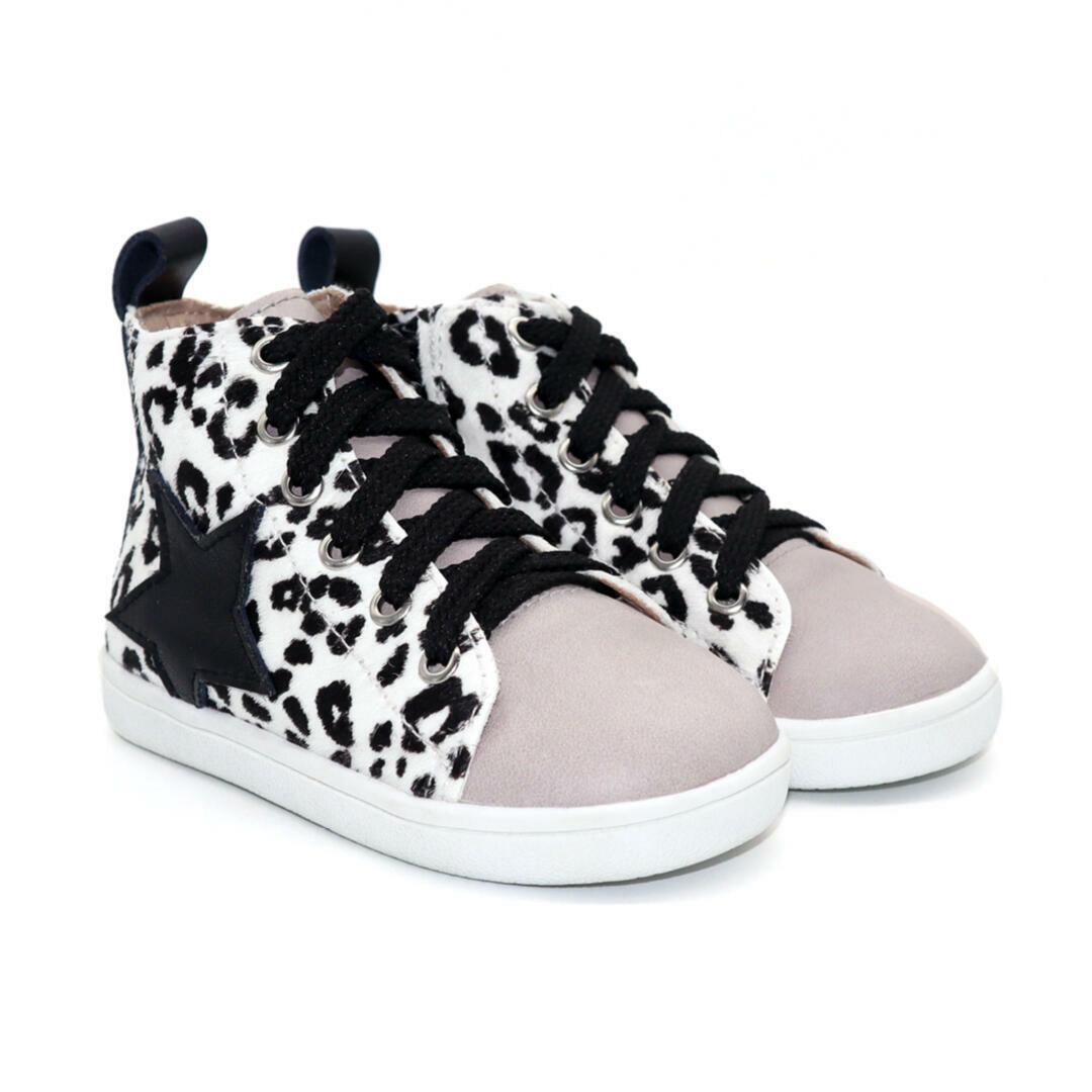 Seren Child hightop boot - Snow Leopard | Trada Marketplace
