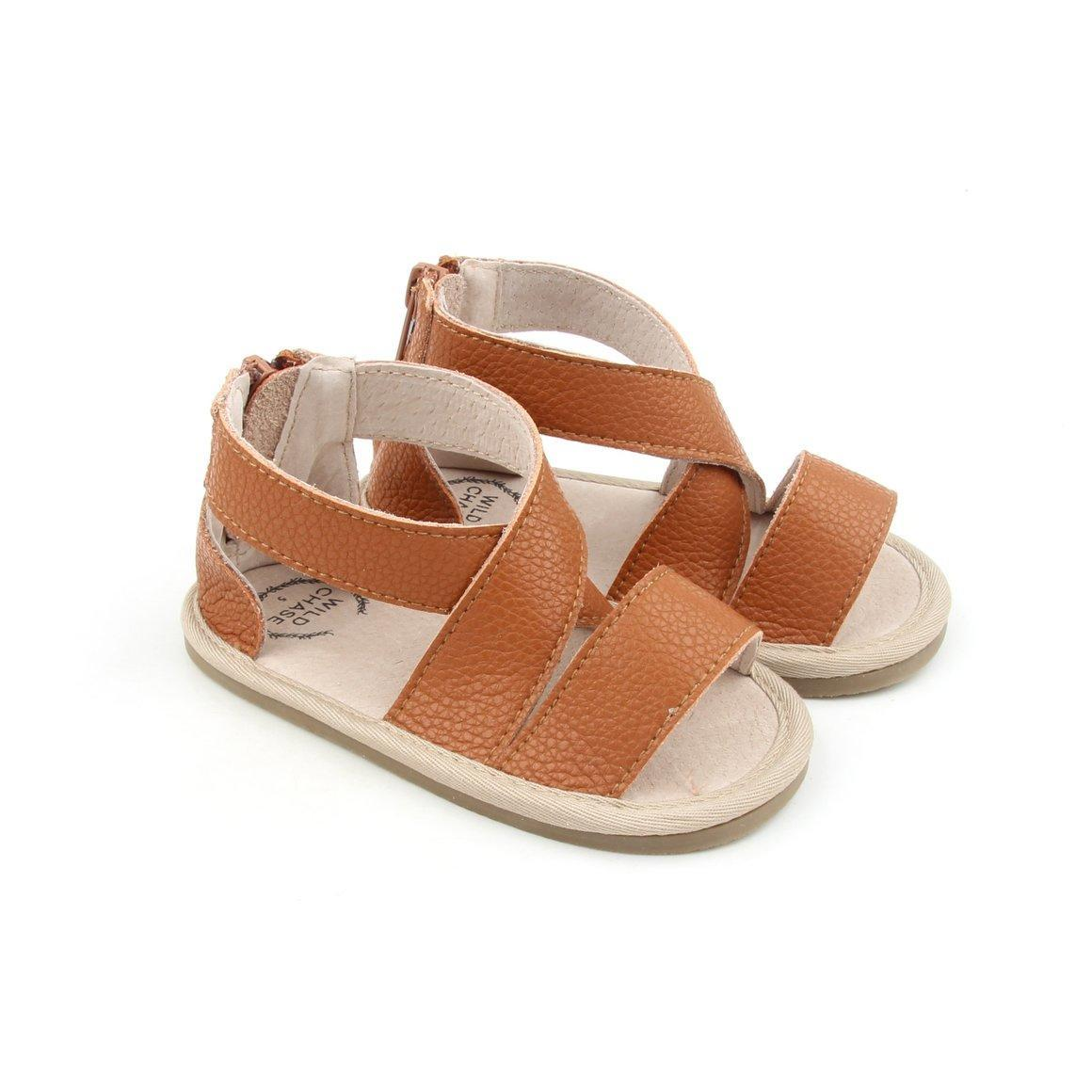 Luxe Leather Sandal Collection - Tan | Trada Marketplace