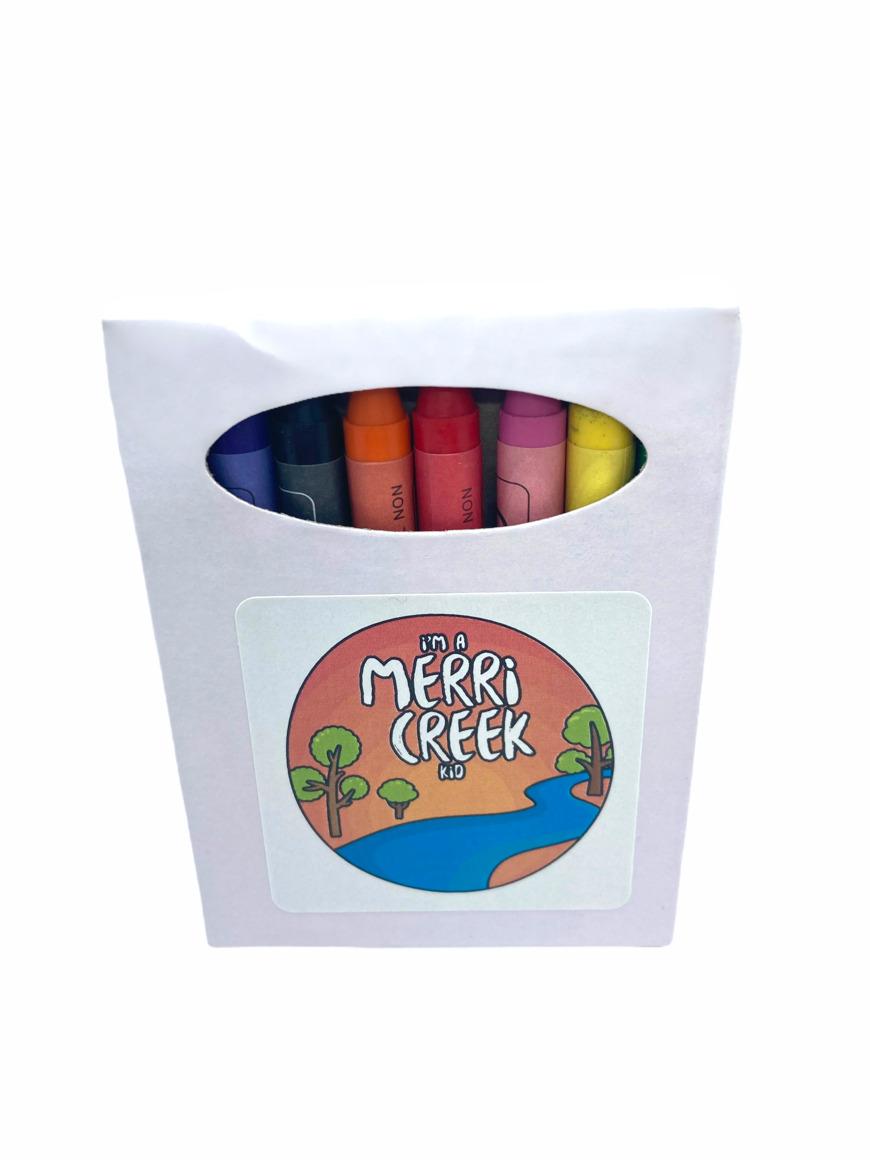 Merri Creek Kid Creative Colouring Tote Bag with Crayons   Trada Marketplace