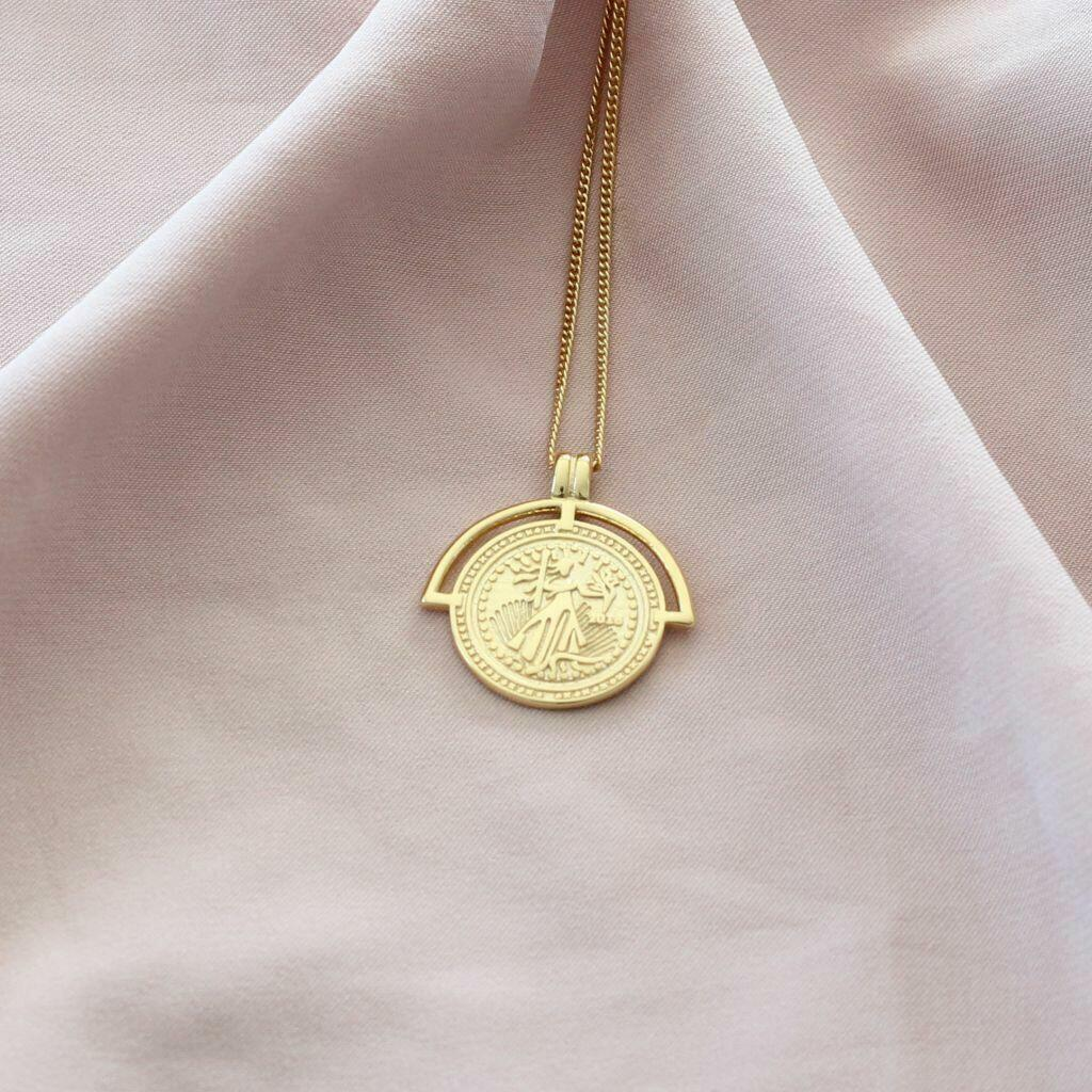 Athene Necklace (Gold) | Trada Marketplace