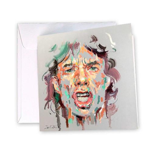 Mick Jagger Greeting Card | Trada Marketplace