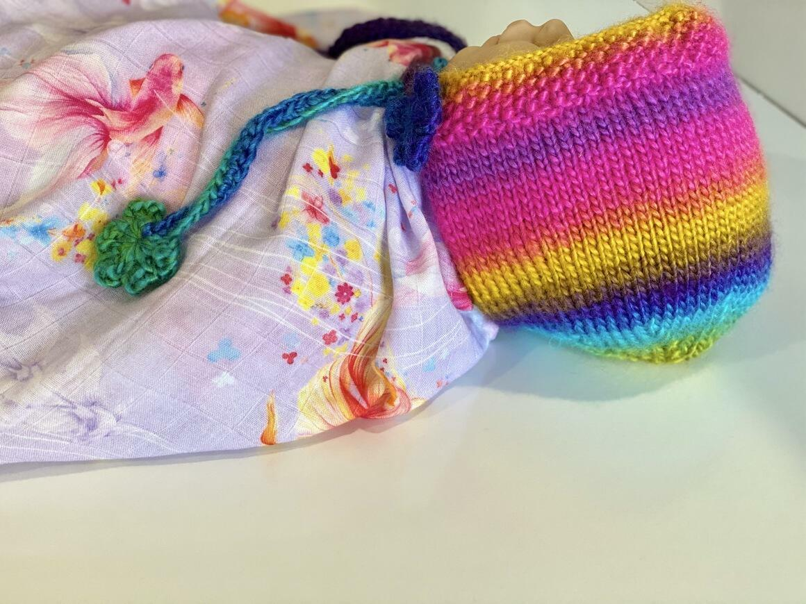 Whimsical ~Handknitted Bonnet   Trada Marketplace