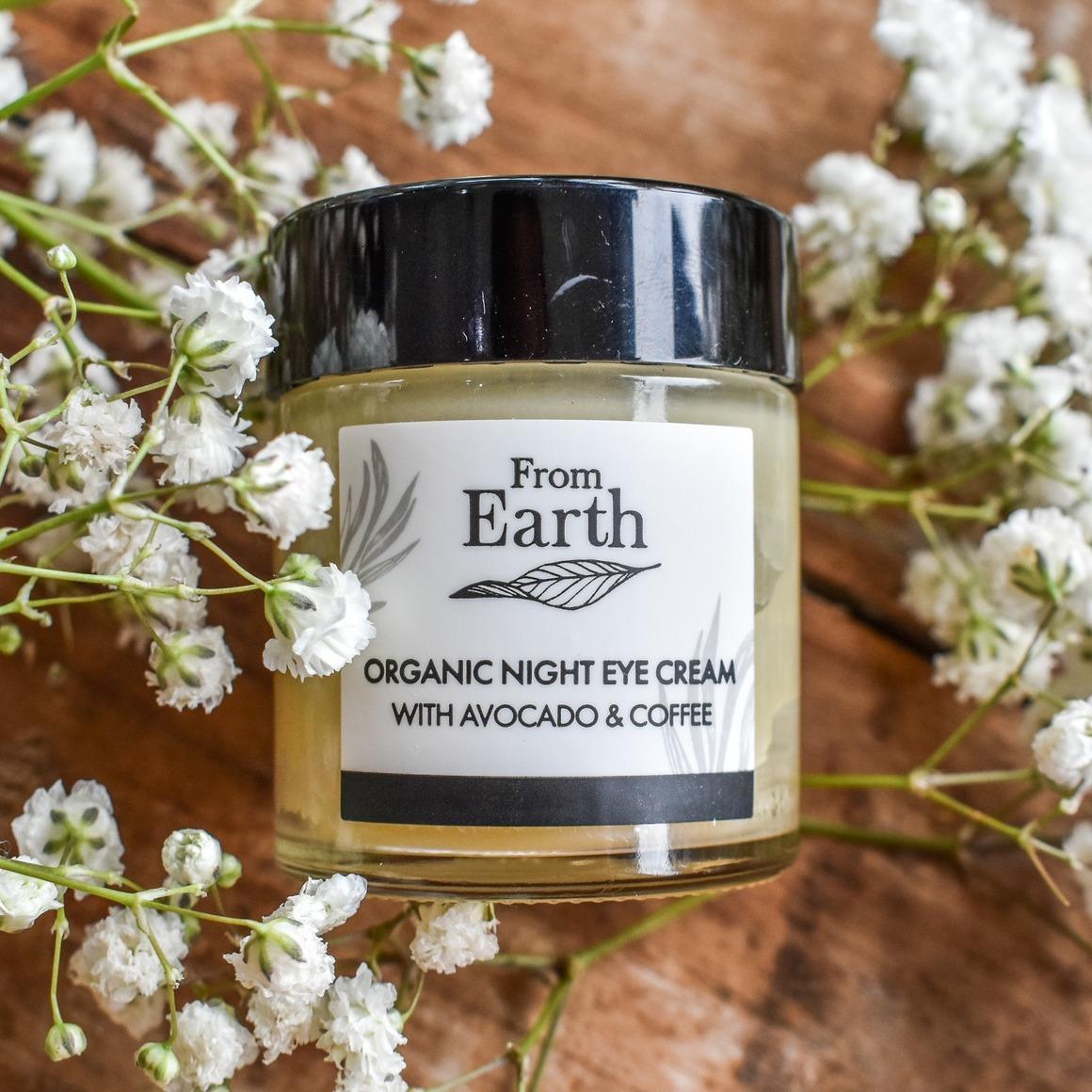 Organic Night Eye Cream   Trada Marketplace