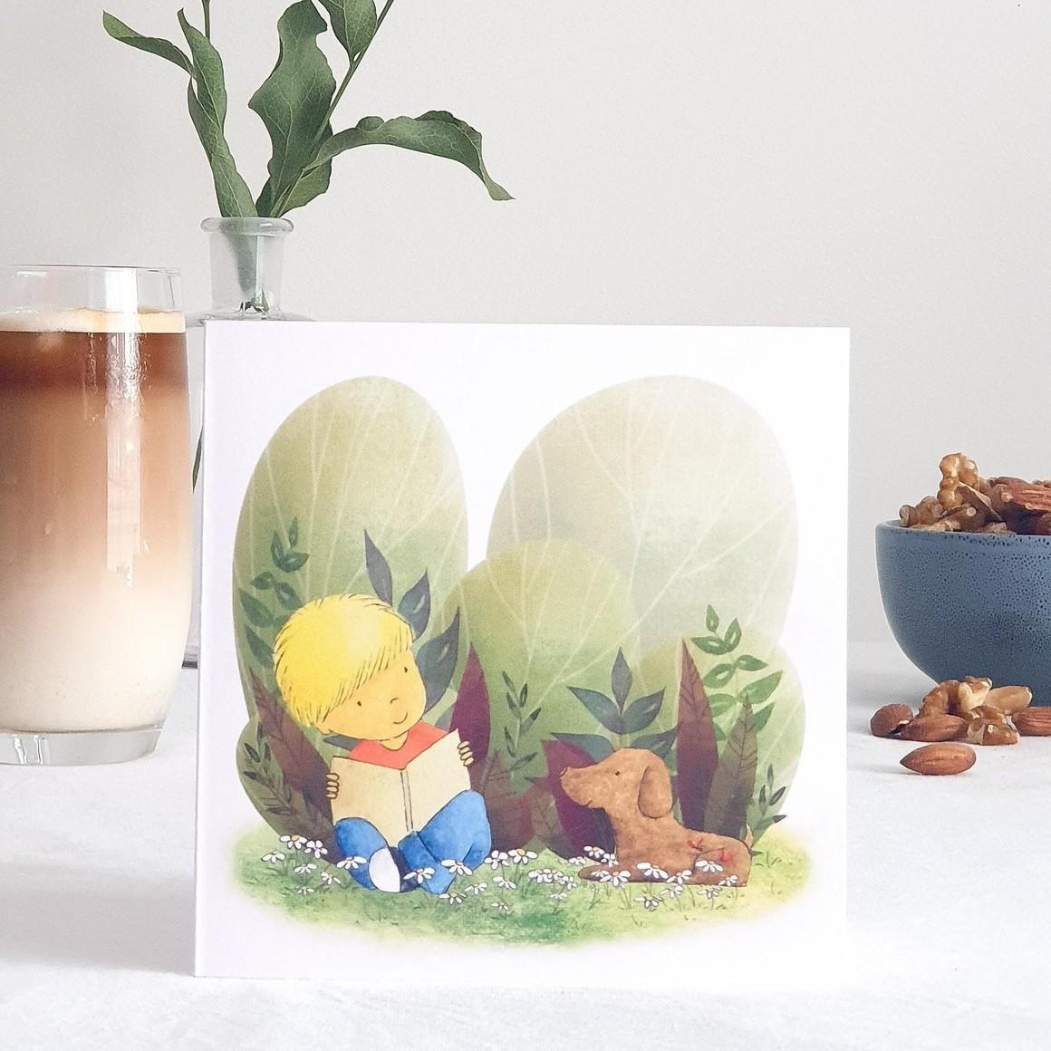 Story Friends Greeting Card    Trada Marketplace