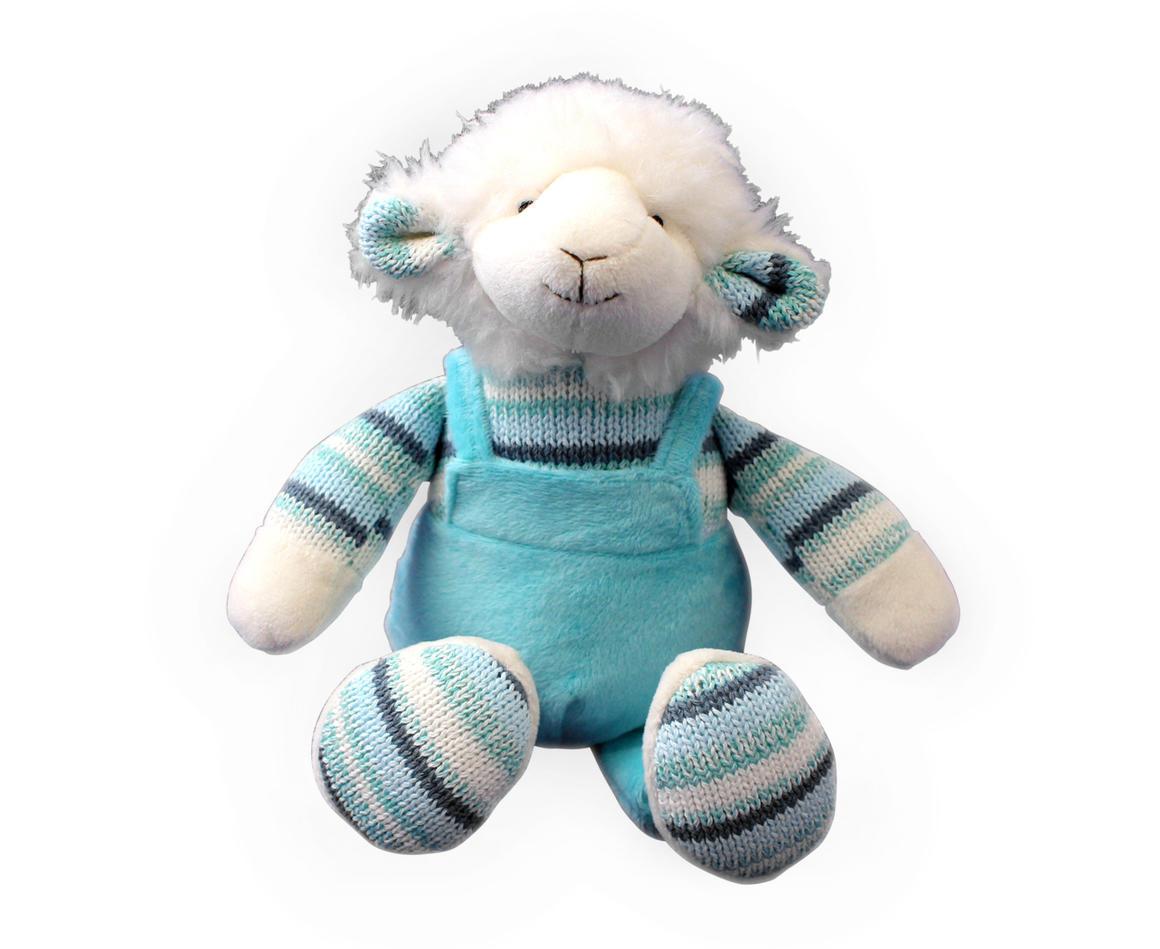 Plush Toy Lamb - Blue    Trada Marketplace