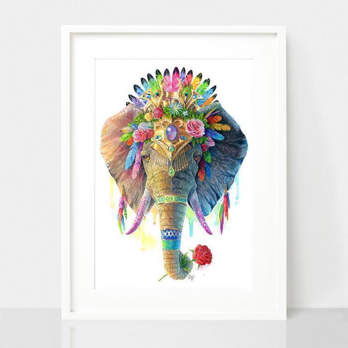 Elephant Print - Spirit Animal Series | Trada Marketplace