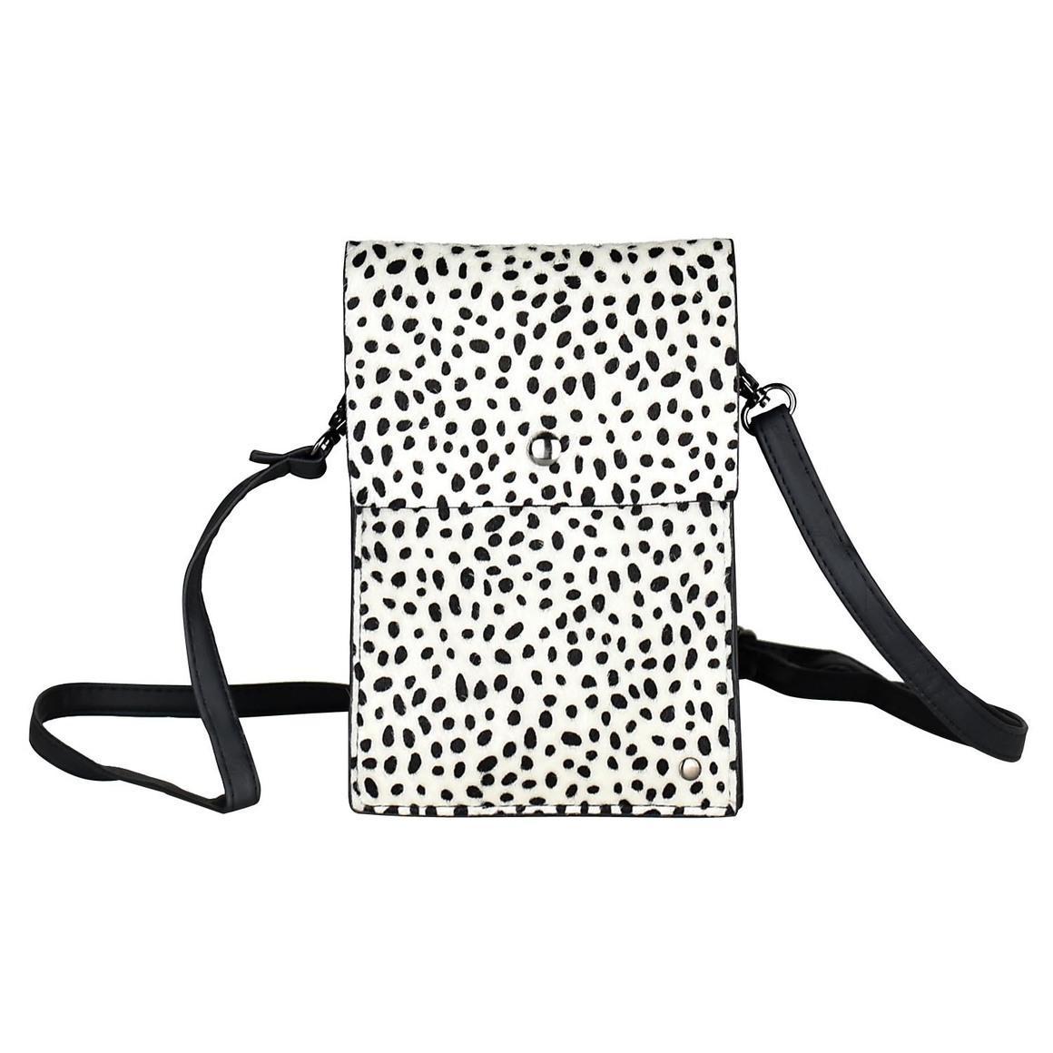 THSB1010: White: Animal Print Cross Bag | Trada Marketplace