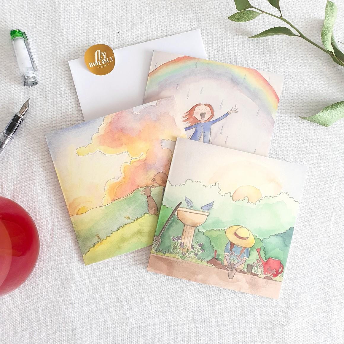 Simple Joys Greeting Card Collection   Trada Marketplace