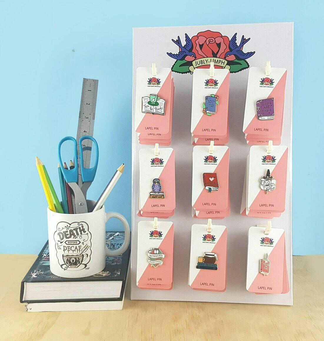 Baby Stand Starter Pack- 60 Pins & FREE Display Stand   Trada Marketplace