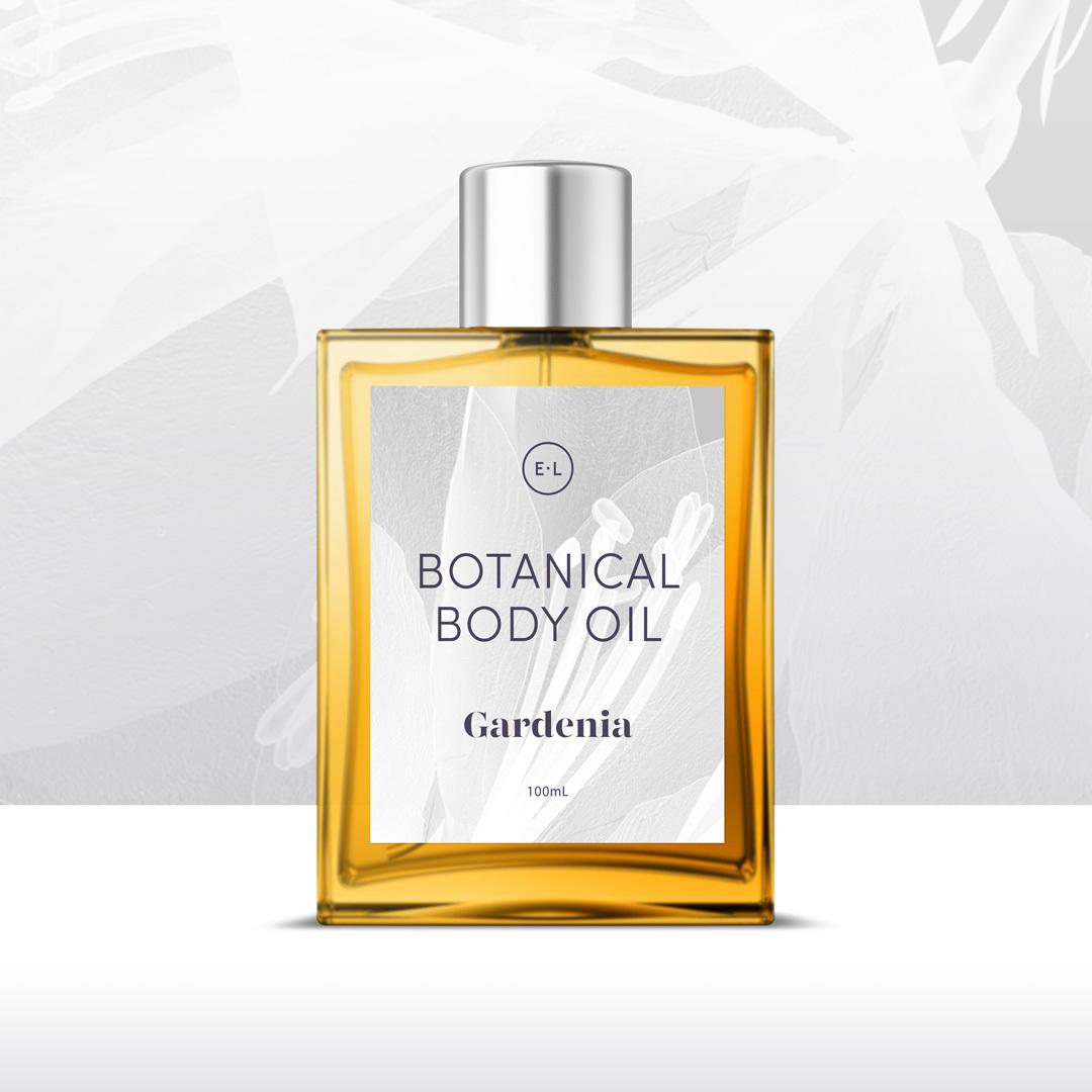 Botanical Body Oil 100ml - Gardenia   Trada Marketplace