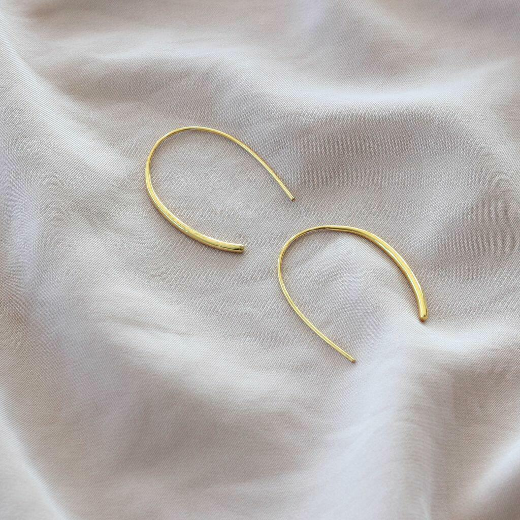 Trident Earring (Gold) | Trada Marketplace