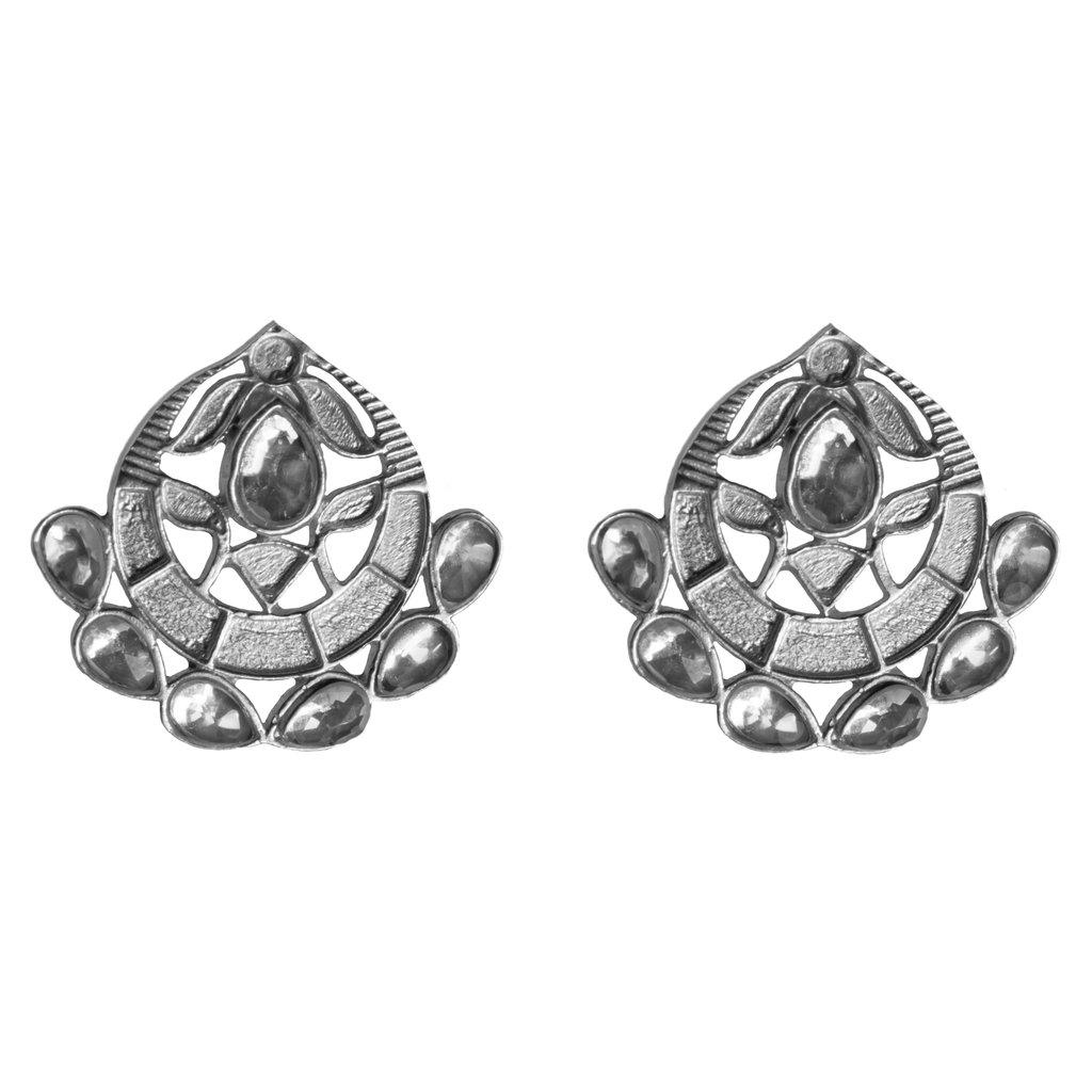 Asra Earrings Silver   Trada Marketplace
