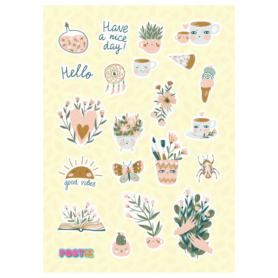 ME TIME MOMENTS A6 GLOSSY STICKER SHEET   Trada Marketplace