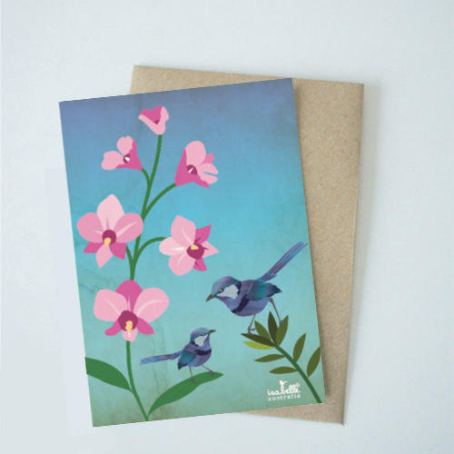 Wrens on Orchid   Trada Marketplace