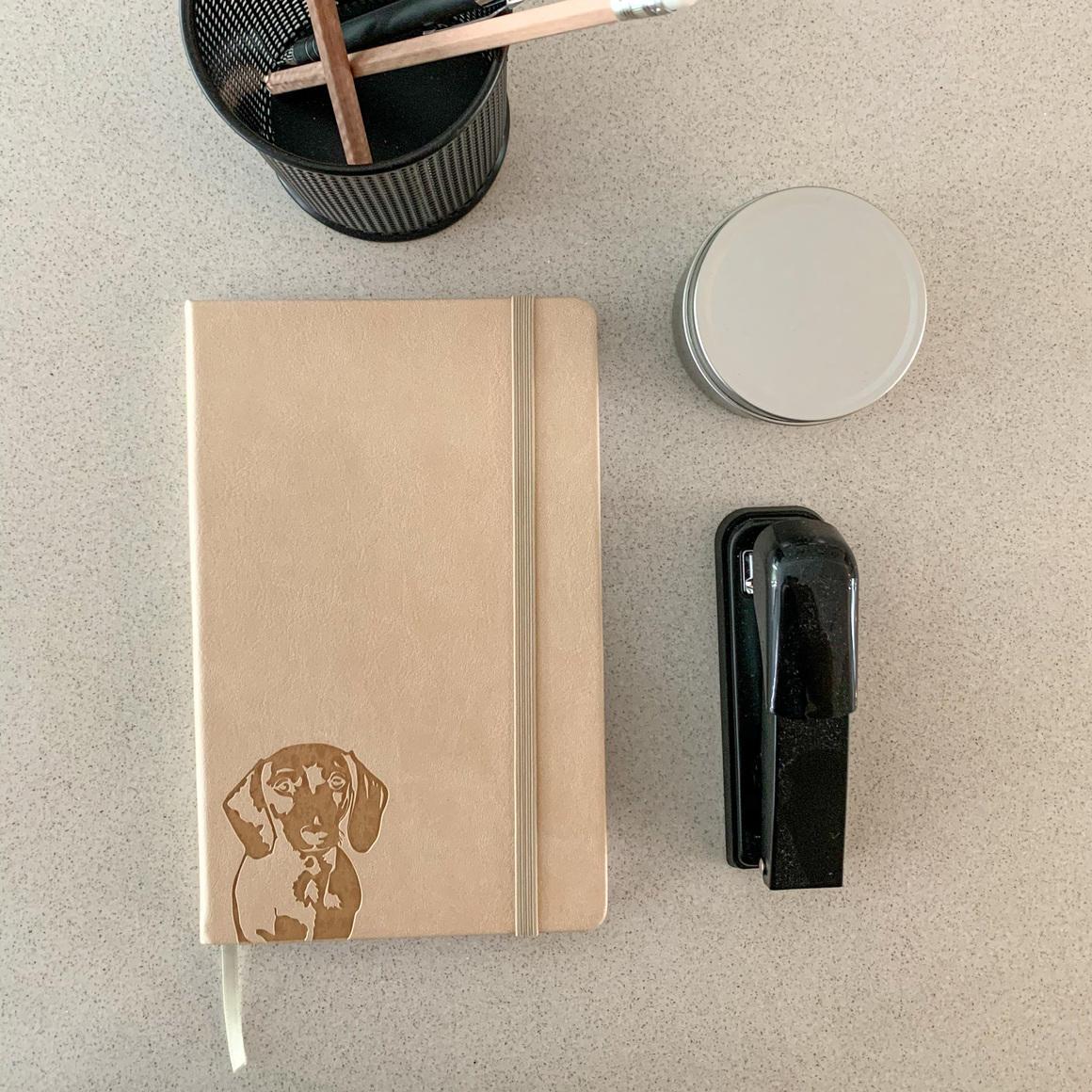 Dachshund Notebook | Trada Marketplace