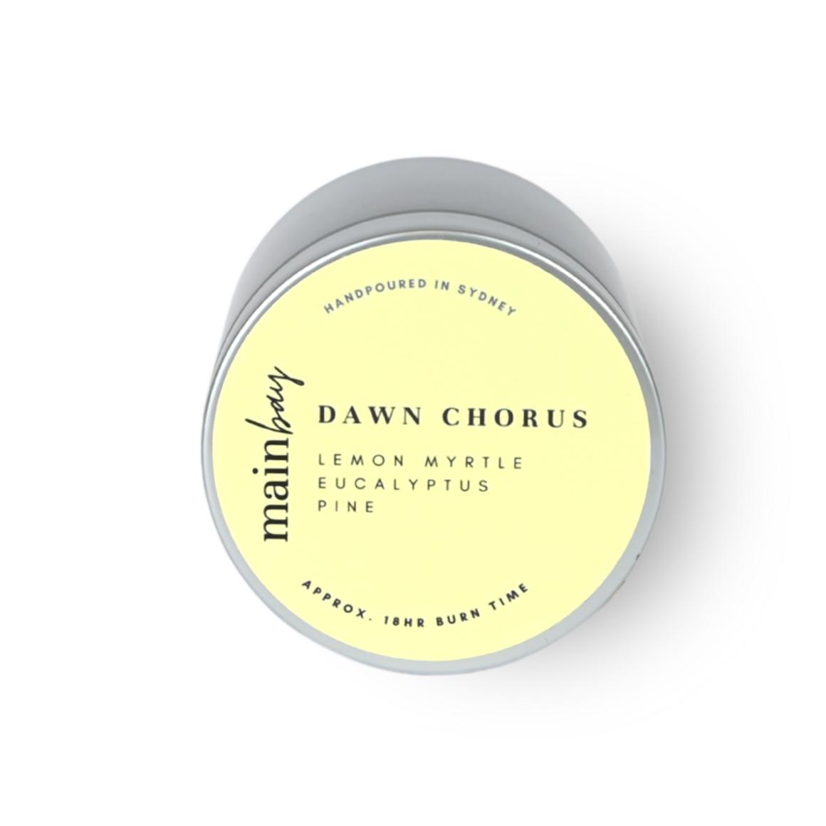 Dawn Chorus | Lemon, Pine, Eucalyptus | Tin Collection | Trada Marketplace