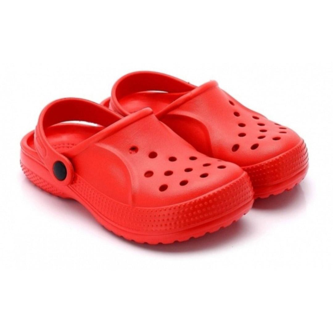 Kids Lightweight Clogs - Red | Trada Marketplace