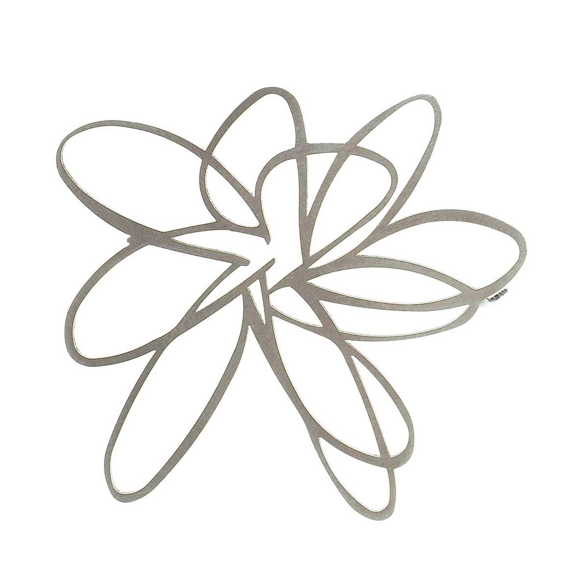 Brooch-Flower-Raw | Trada Marketplace