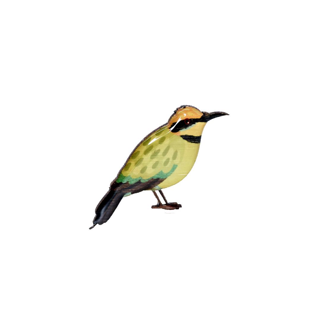 Bee-eater - Rainbow Bee-eater Brooch   Trada Marketplace