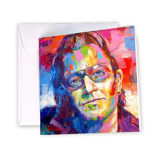 Bono Greeting Card | Trada Marketplace
