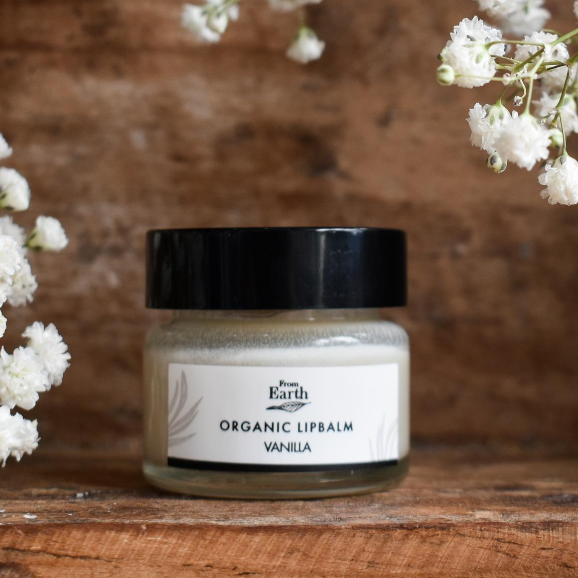 Organic Lipbalm Vanilla   Trada Marketplace