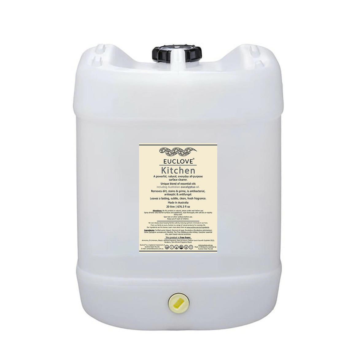 Euclove Kitchen Cleaner 20 litre zero-waste bulk can | Trada Marketplace