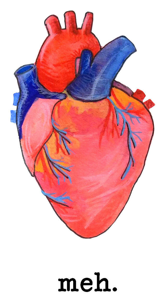 Meh. Heart   Trada Marketplace
