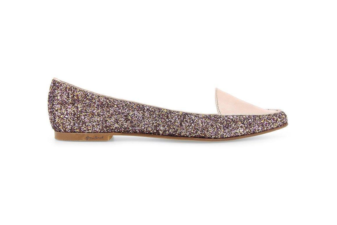 FRAMBUA Duo Cocco Leather Ballerina | Trada Marketplace