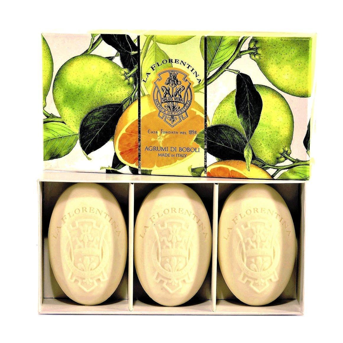 La Florentina Boboli Citrus 3 Bars Soap 150 g   Trada Marketplace