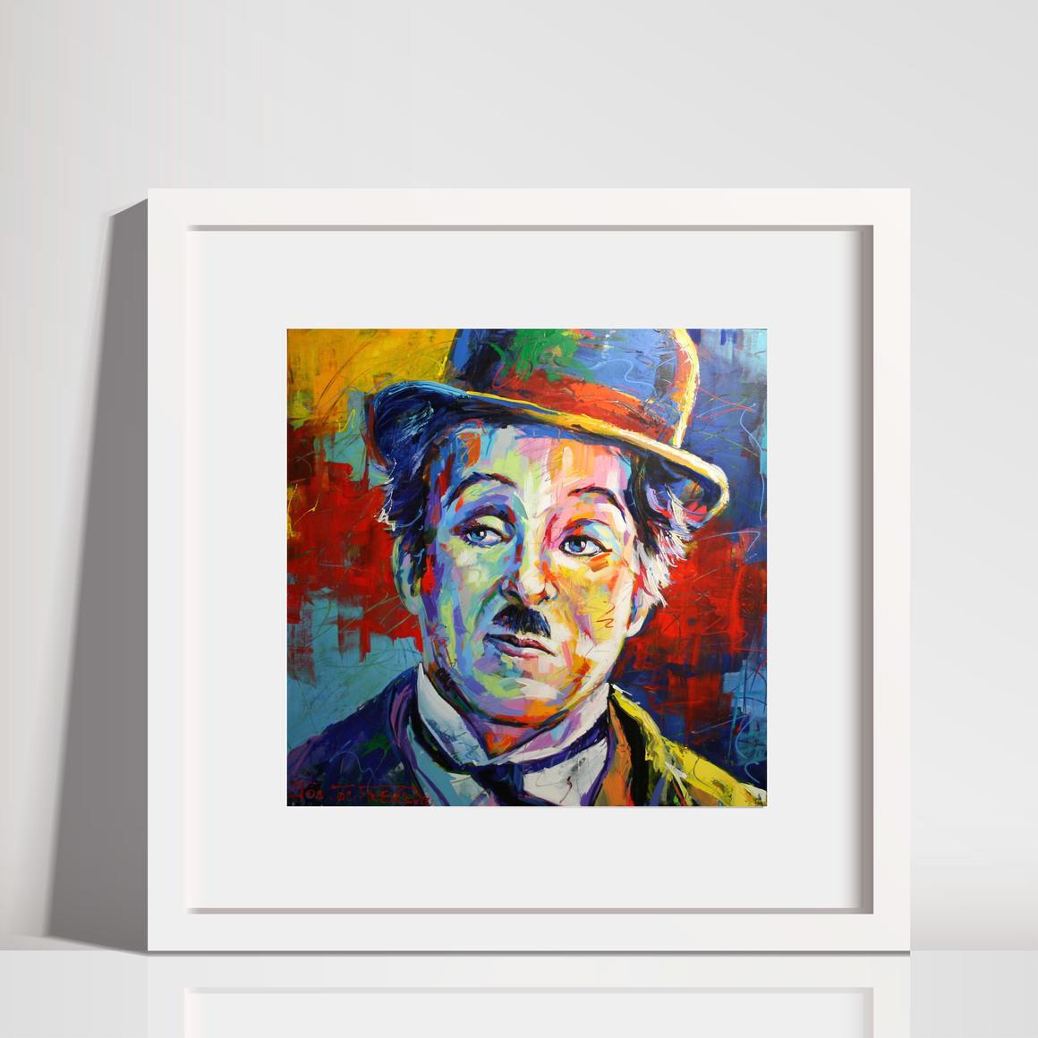 Charlie Chaplin Art Print | Trada Marketplace