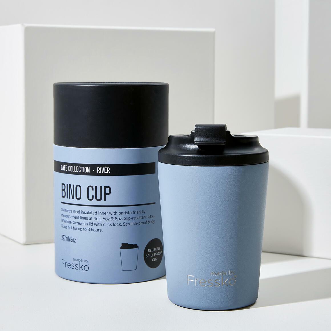 Fressko BINO 8oz Stainless Steel Reusable Cup BLUE | Trada Marketplace