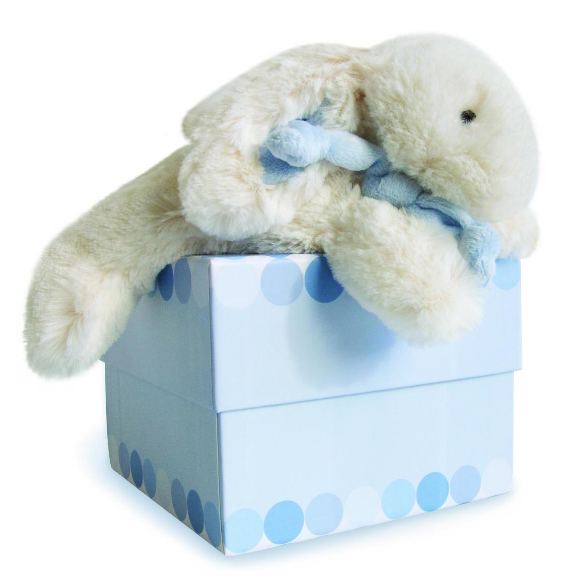 large blue rabbit 30cm + gift box   Trada Marketplace